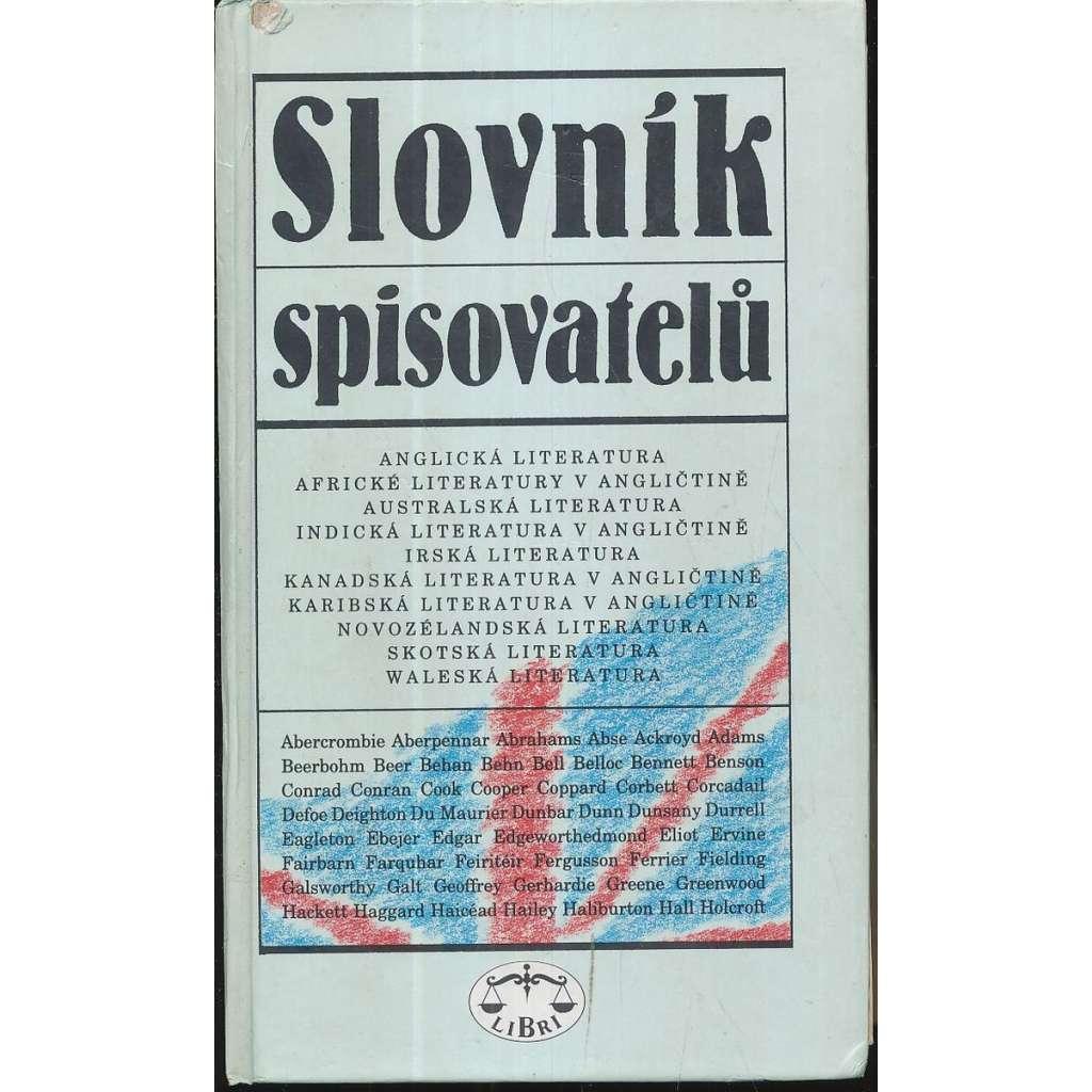 Slovník spisovatelů (Anglická literatura...)