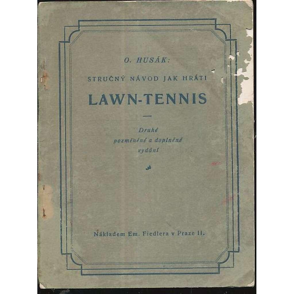 Stručný návod jak hráti Lawn-Tennis