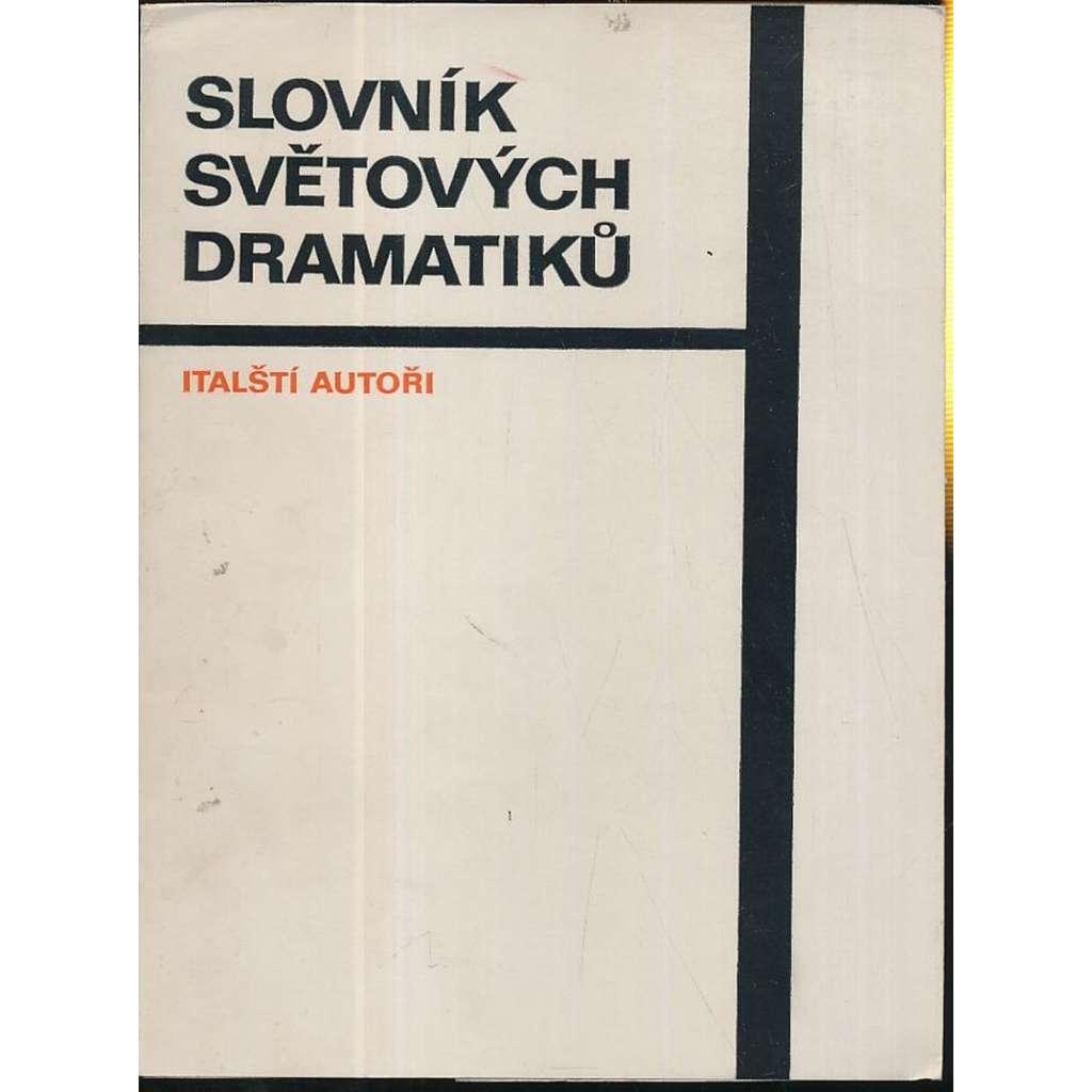 Slovník světových dramatiků: Italští autoři