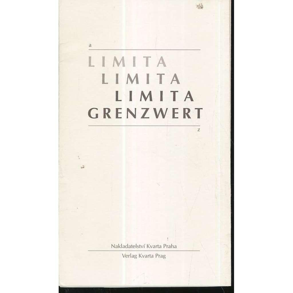 Limita:Matematické epištoly/ Grenzwert...