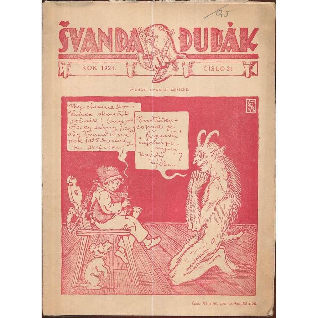 Švanda dudák, č.21/1924