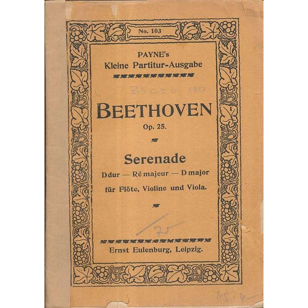 Serenade D dur-Ré majeur-D major