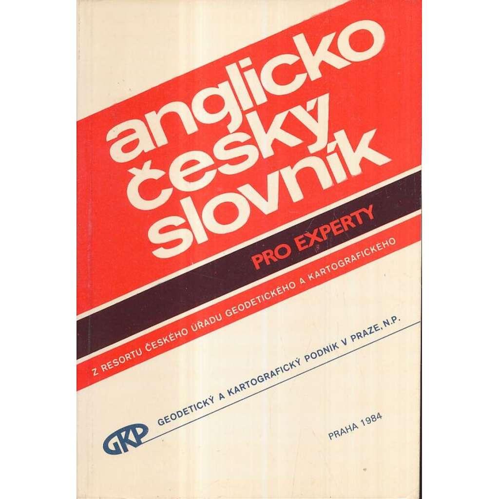 Anglicko-český slovník pro experty (1984)