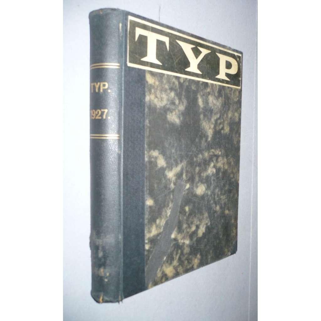 TYP, ilustrovaný magazin, r. I/1927