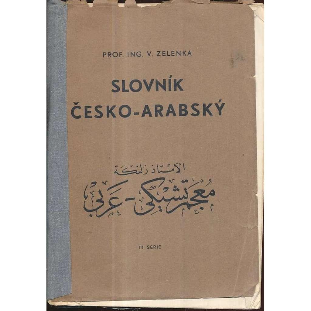 Slovník česko-arabský
