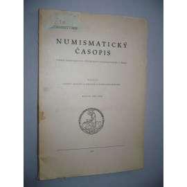 Numismatický časopis, ročník XXI.(1952)