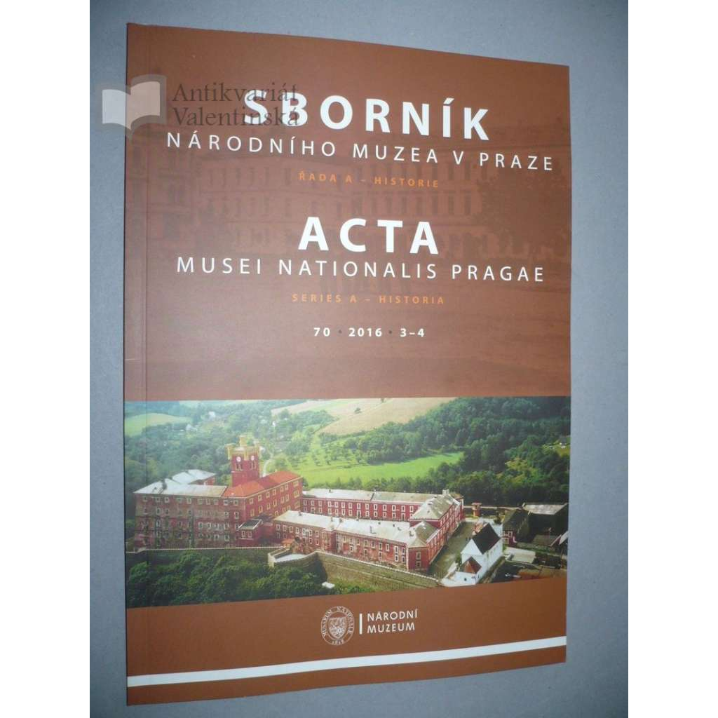 Sborník národního muzea v Praze, 3-4/2016