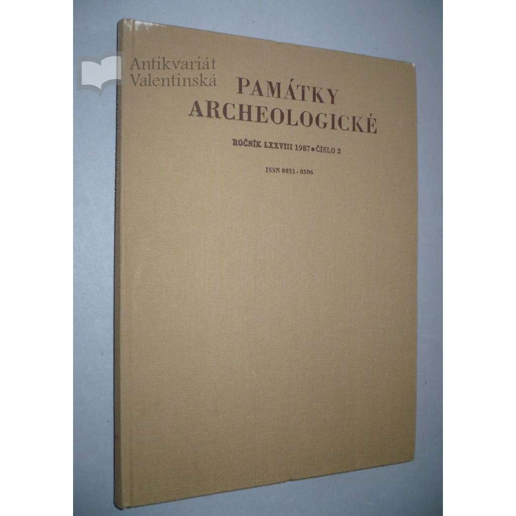 Památky archeologické, ročník LXXVIII 1987, č.2