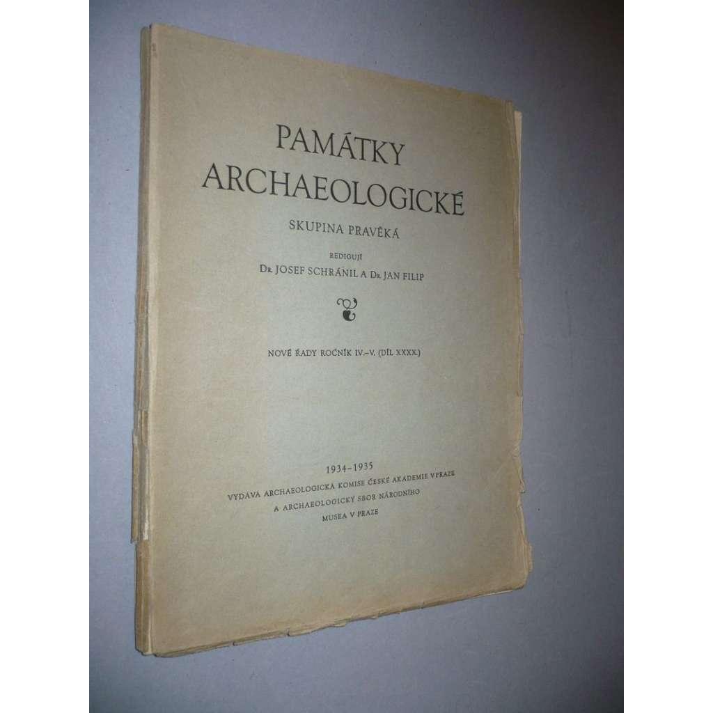 Památky archeologické, ročník IV.-V./1934-35
