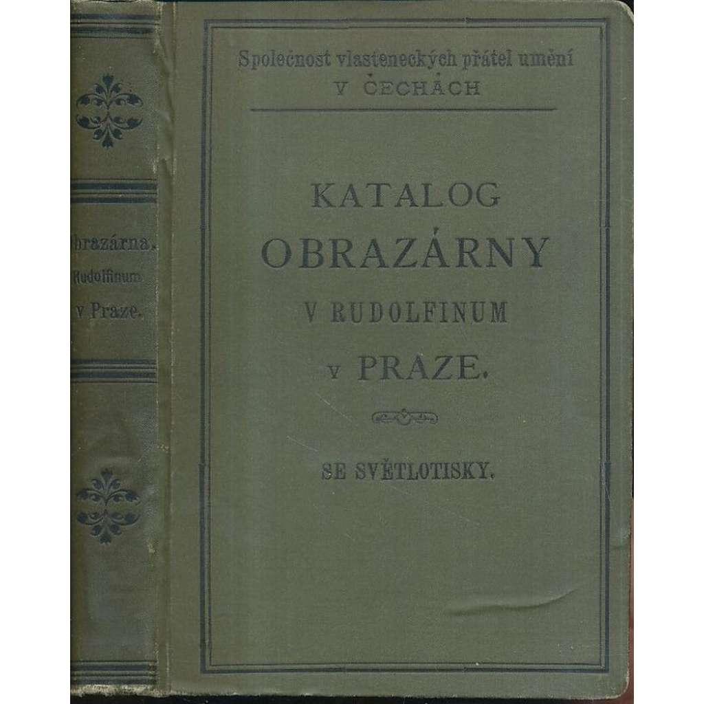 Katalog obrazárny v Domě umělců Rudolfinum, Praha