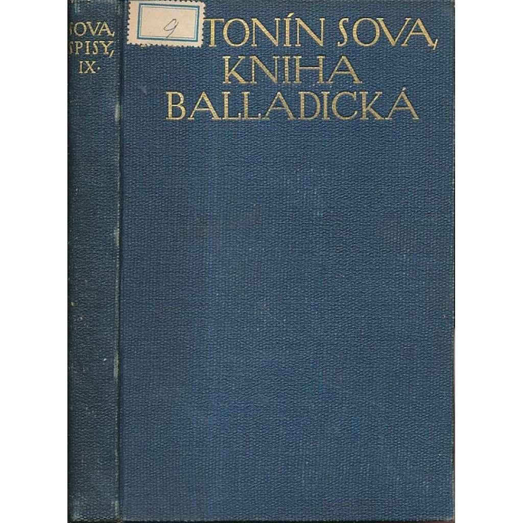 Kniha balladická