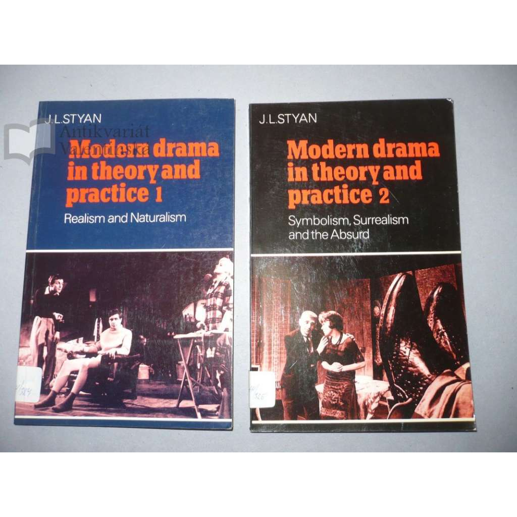 Modern drama in theory and practice, 2 svazky
