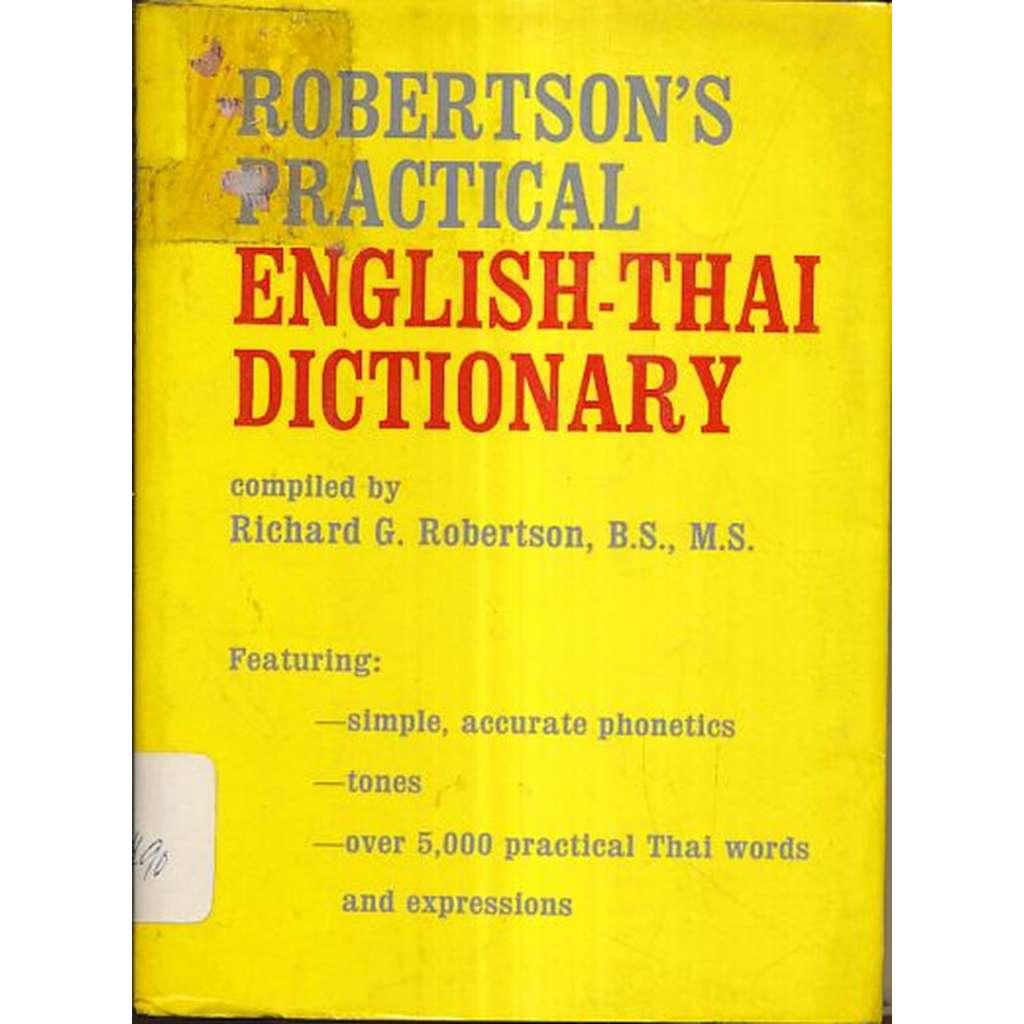 Robertson´s Practical English -Thai Dictionary