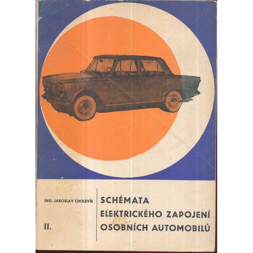 Schémata elektrického zapojení osobních automobilů, II.