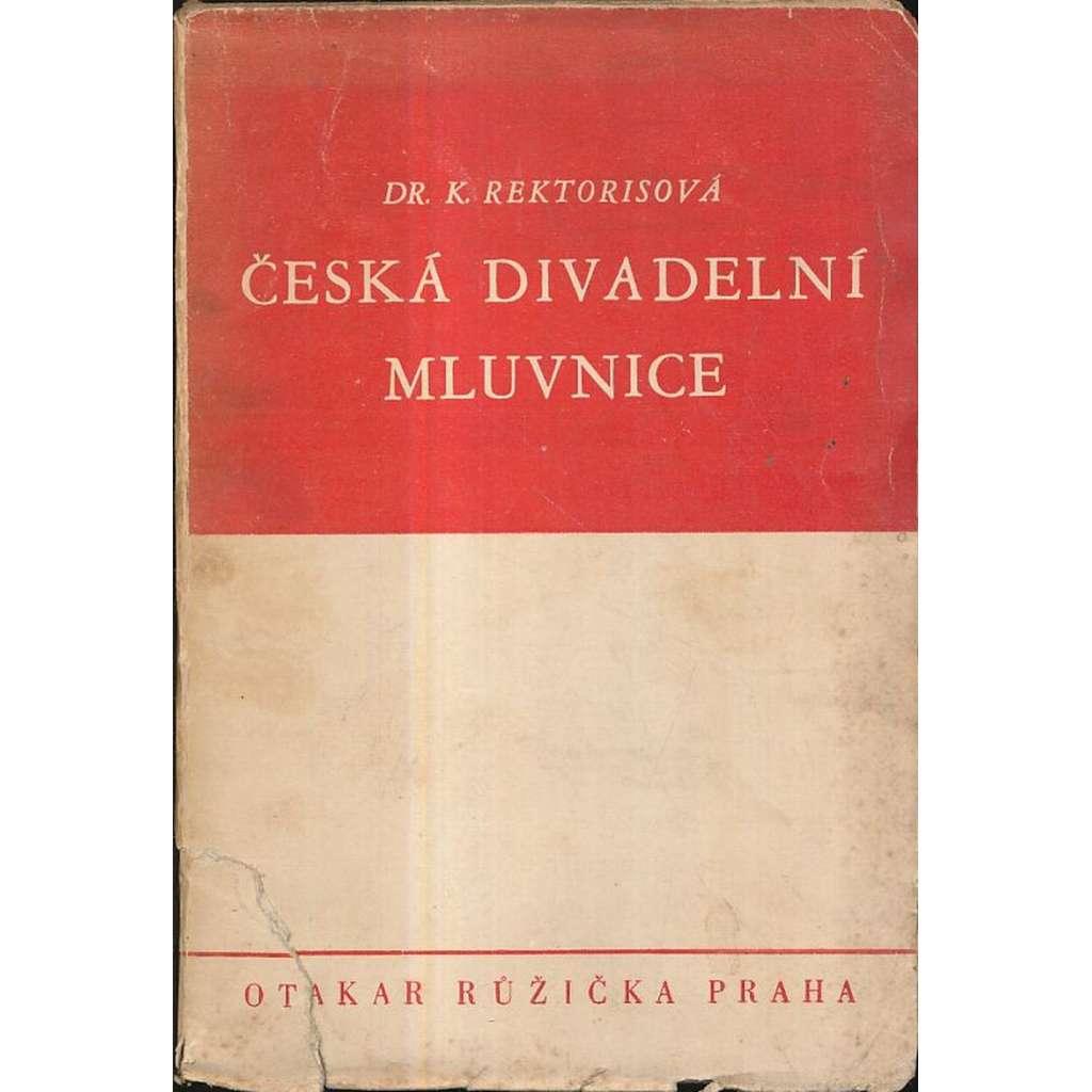 Česká divadelní mluvnice