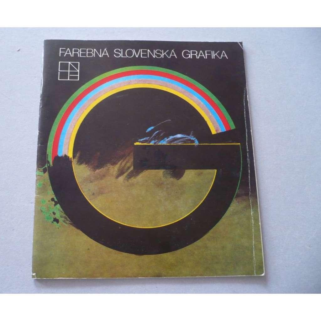 Farebná slovenská grafika
