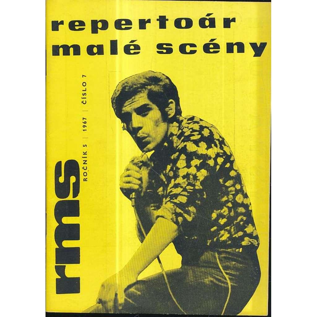 Repertoár malé scény, č.7 / ročník V. (1967)