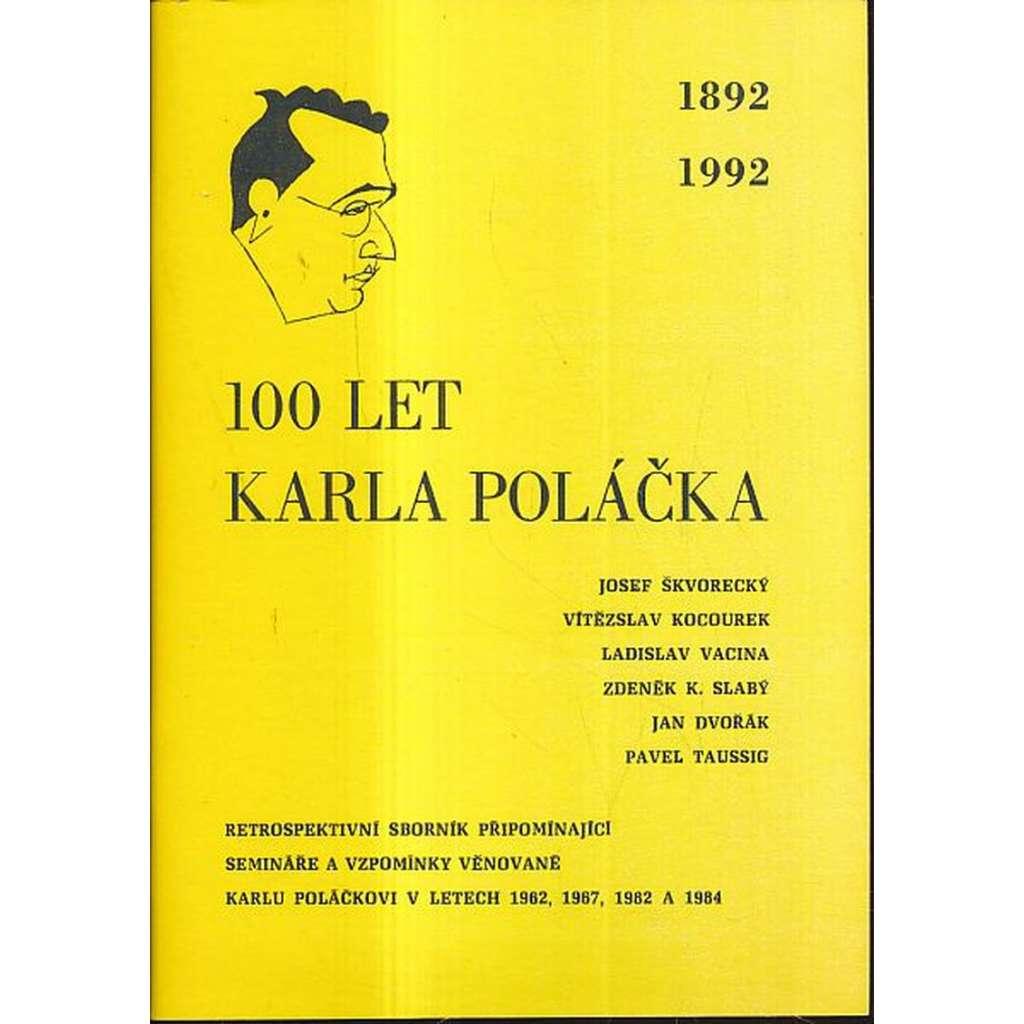 100 let Karla Poláčka