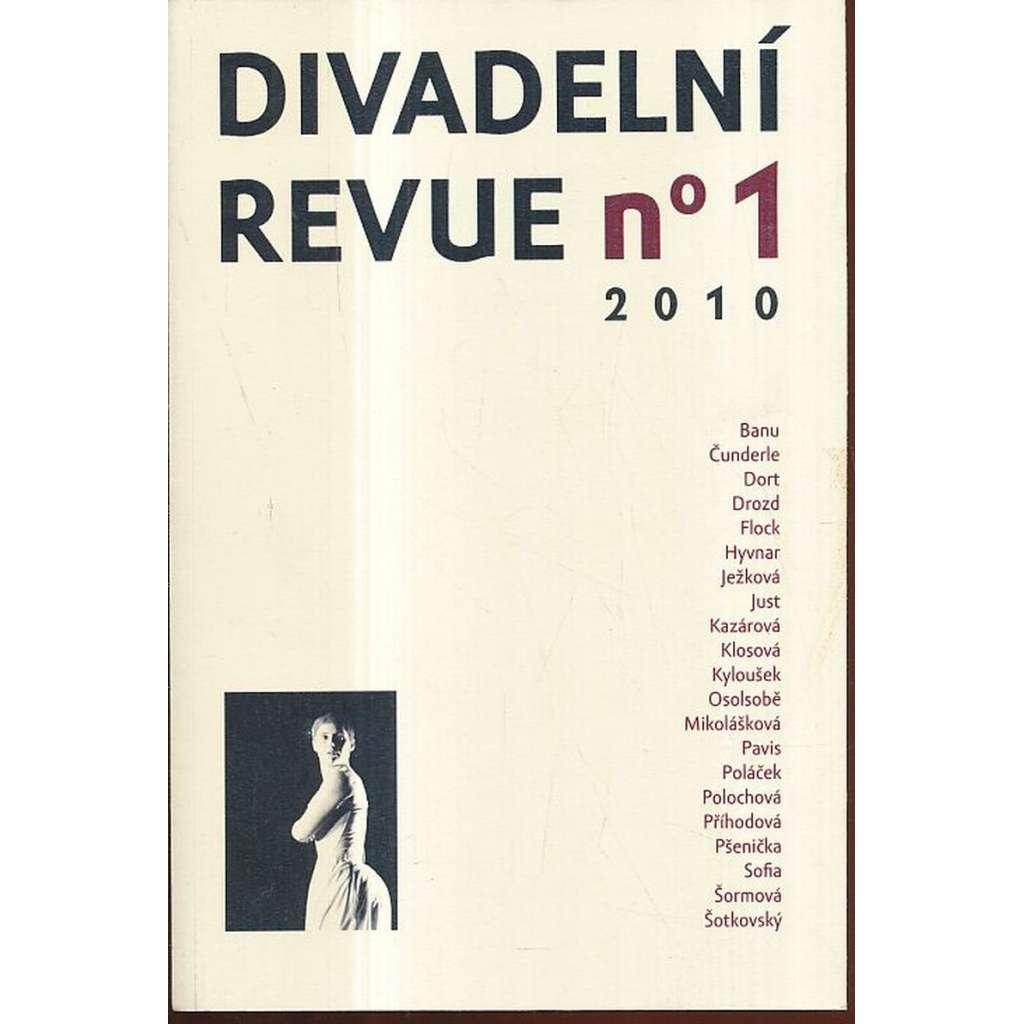 Divadelní revue, 1/2010