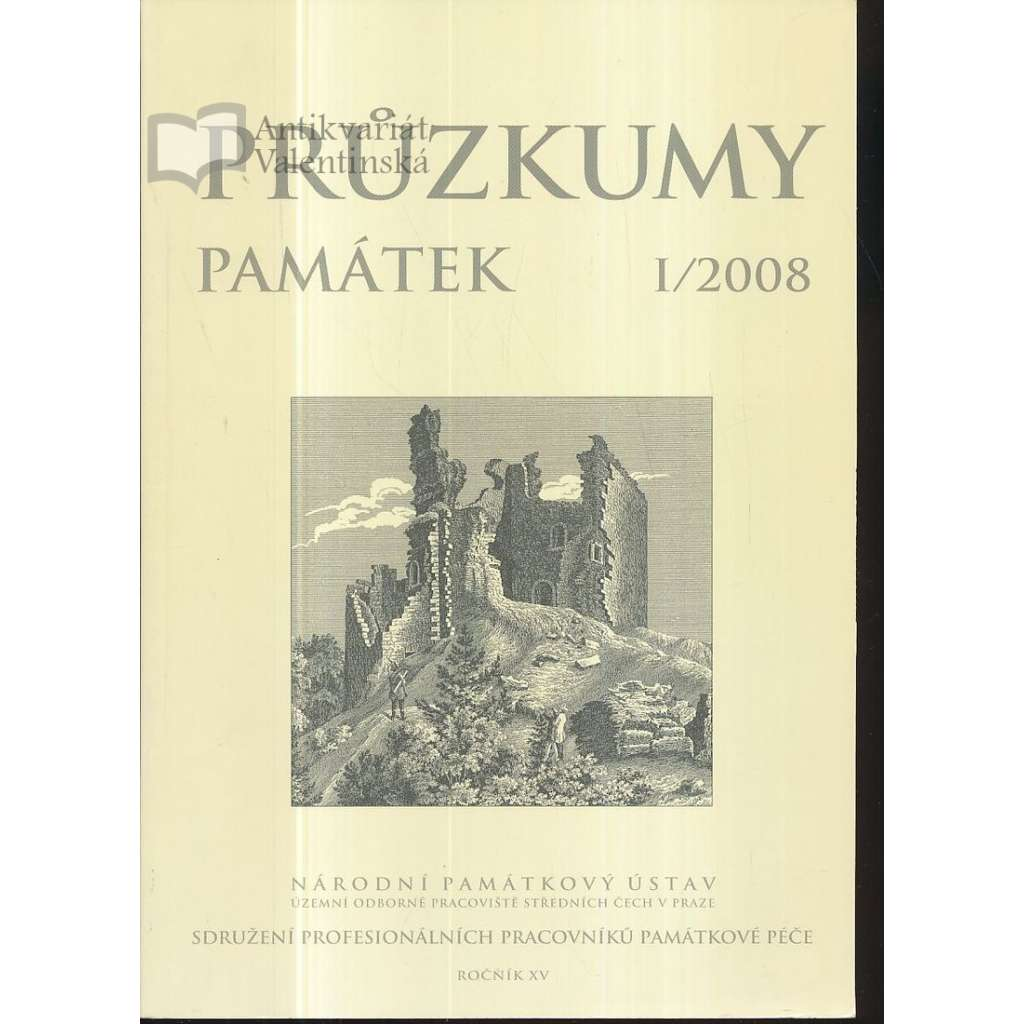 Průzkumy památek, roč. XV. I/2008