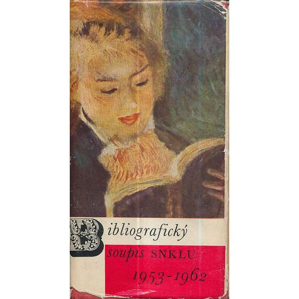 Bibliografický soupis SNKLU 1953 - 1962