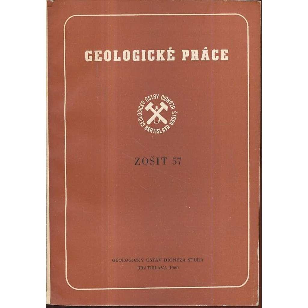 Geologické práce, zošit 57