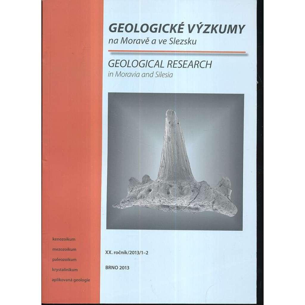 Geologické výzkumy, XX.roč. /2013/ 1-2