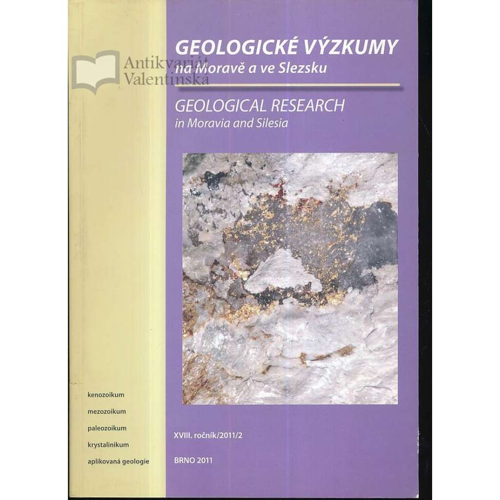 Geologické výzkumy, XVIII.roč. /2011/ 2