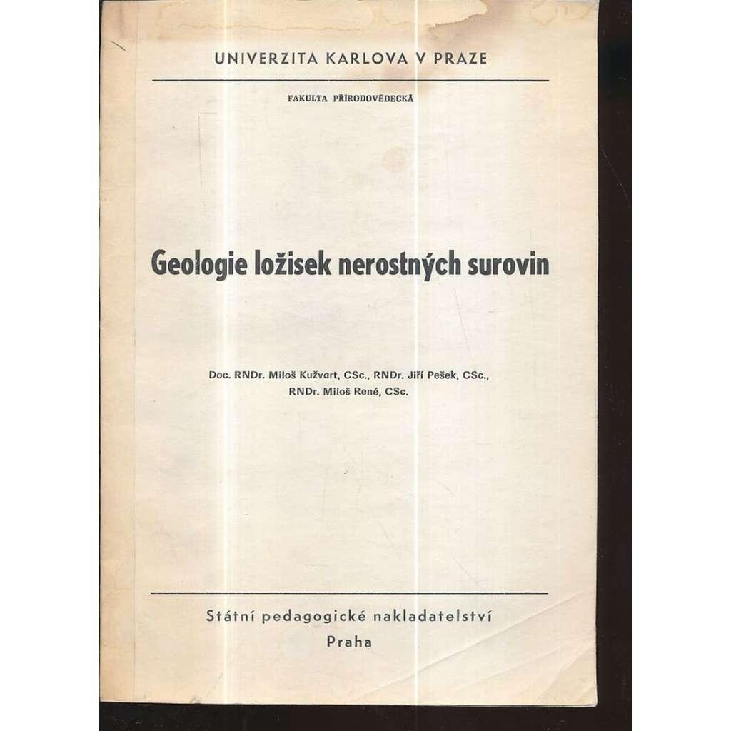 Geologie ložisek nerostných surovin