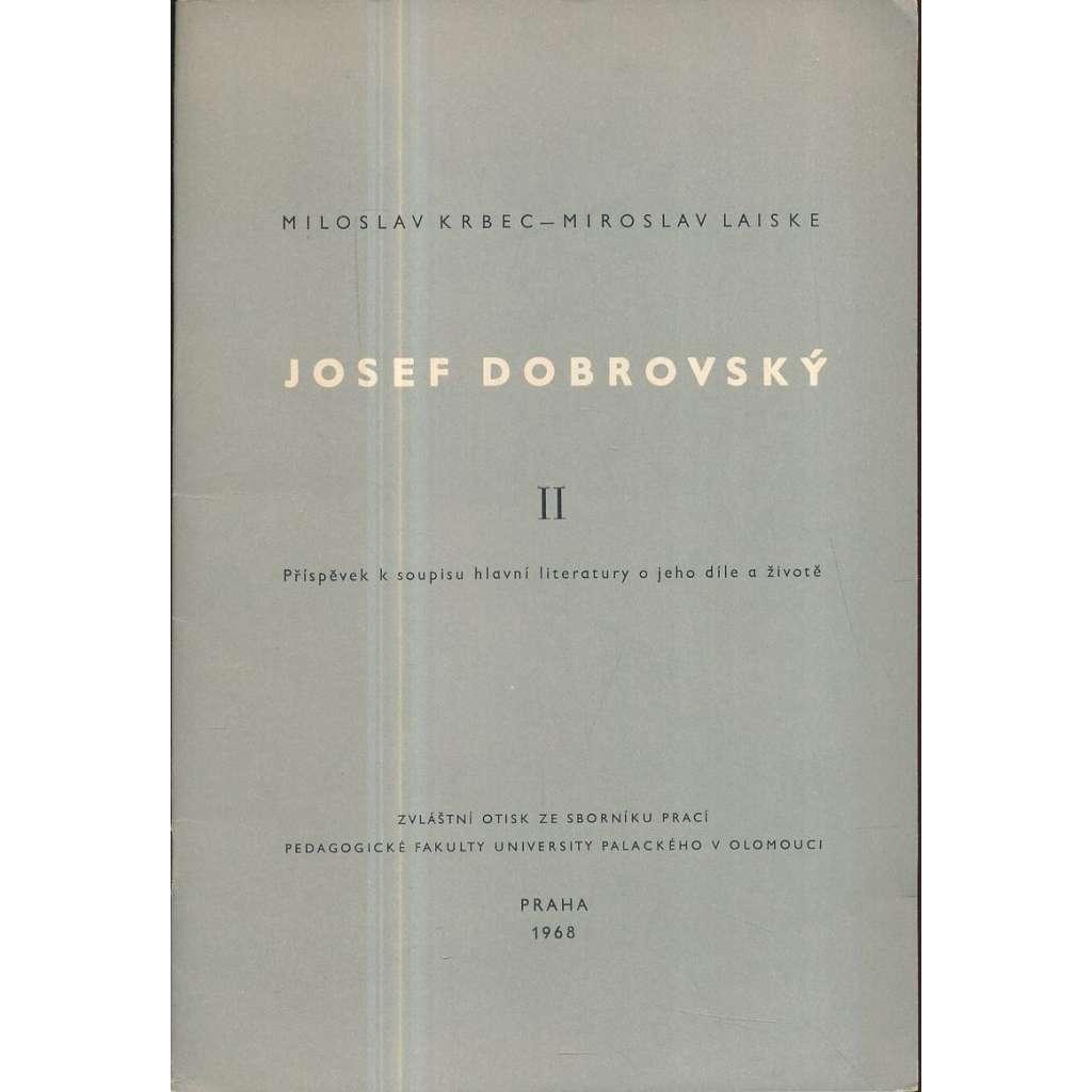 Josef Dobrovský II