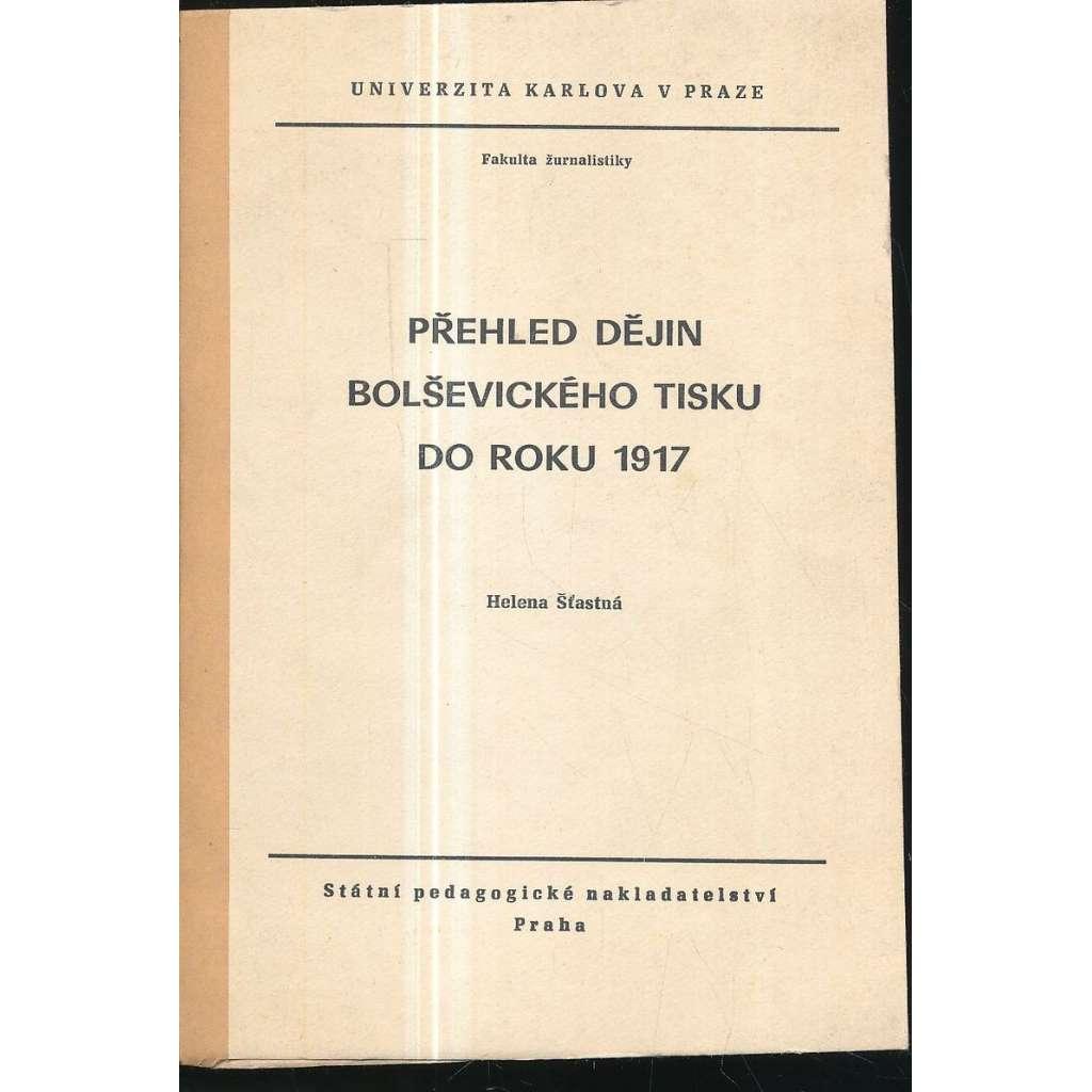 Přehled dějin bolševického tisku do roku 1917
