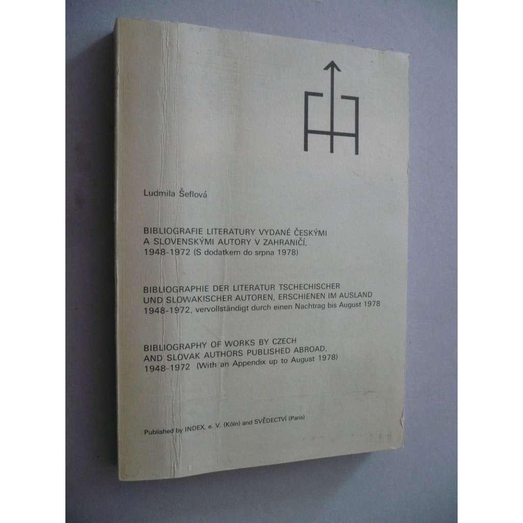 Bibliografie literatury vydané českými a...(exil)