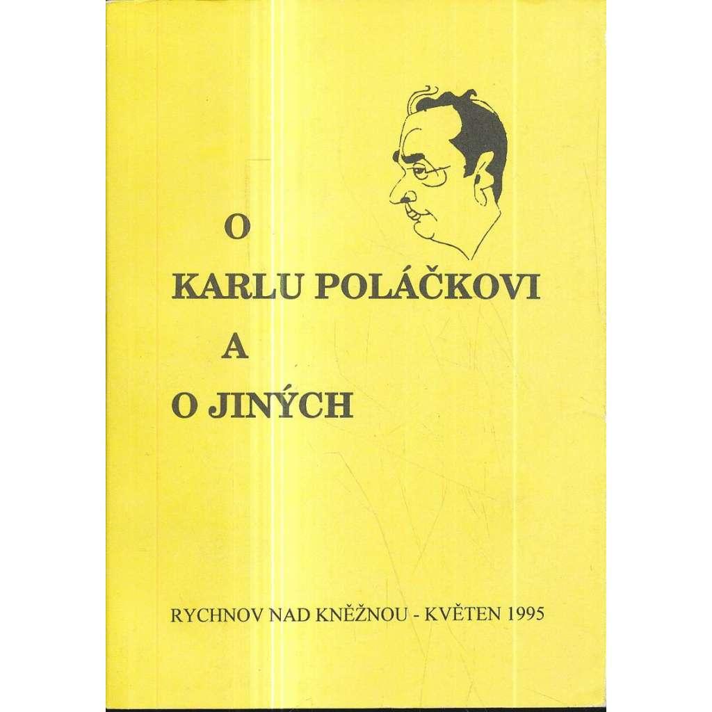 O Karlu Poláčkovi a o jiných