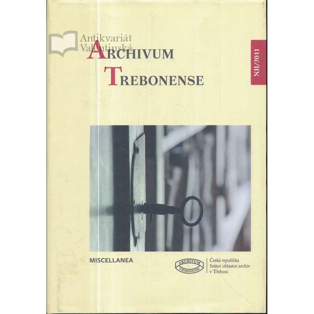Archivum Trebonese XII/2011