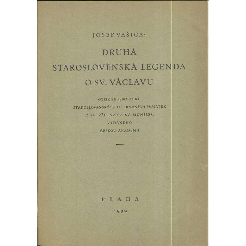 Druhá staroslověnská legenda o sv. Václavu