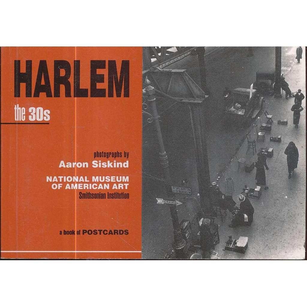 Harlem: The 30's.  Postcard Book