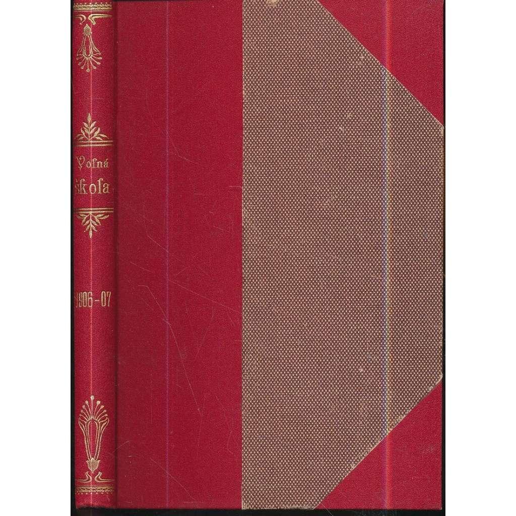 Revue Volná škola, r.II./1906-1907