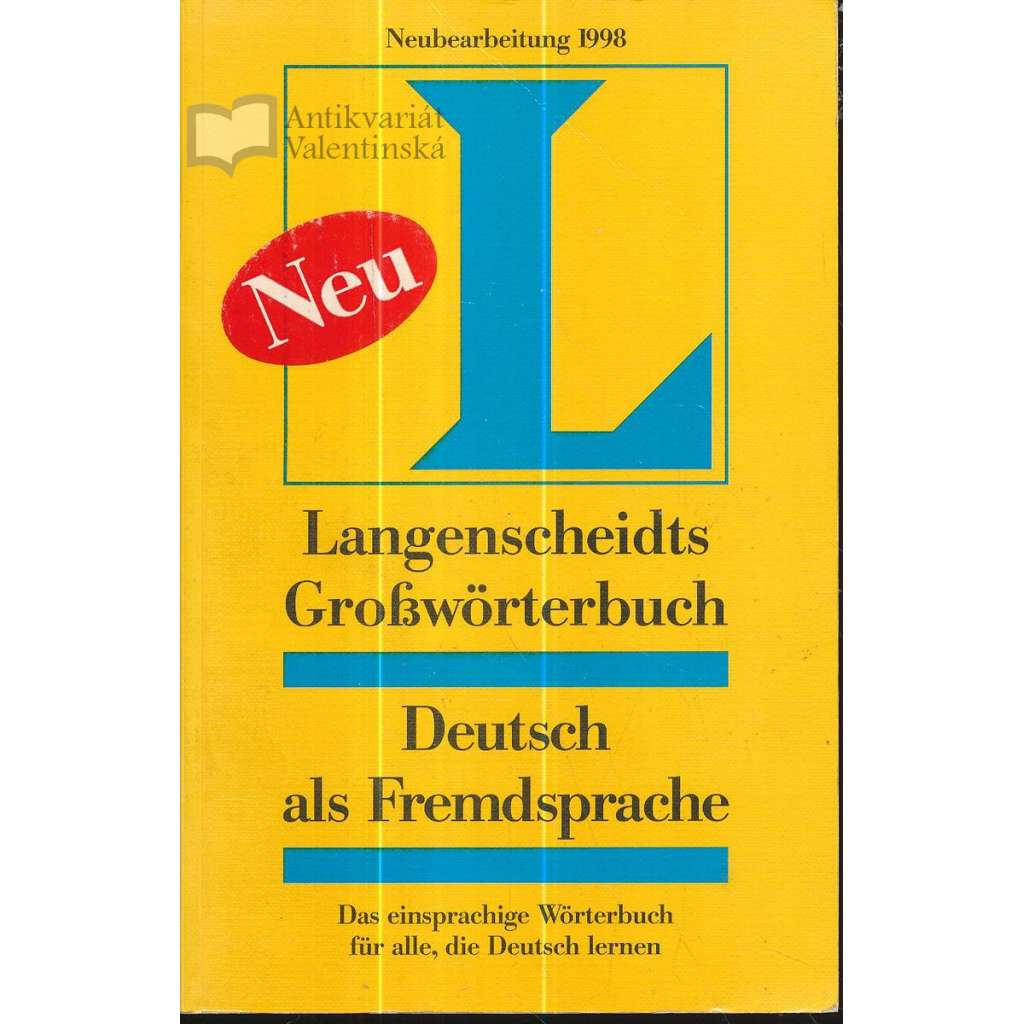 Langenscheidts Großwörterbuch Deutsch als Fremdsprache