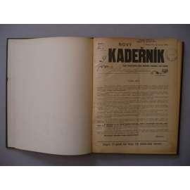 Nový kadeřník, roč. I. (1900) - (kadeřnictví, móda)
