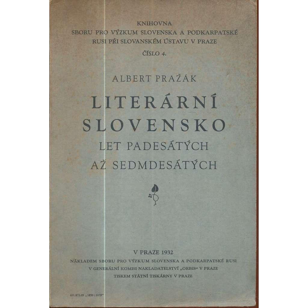 Literární Slovensko