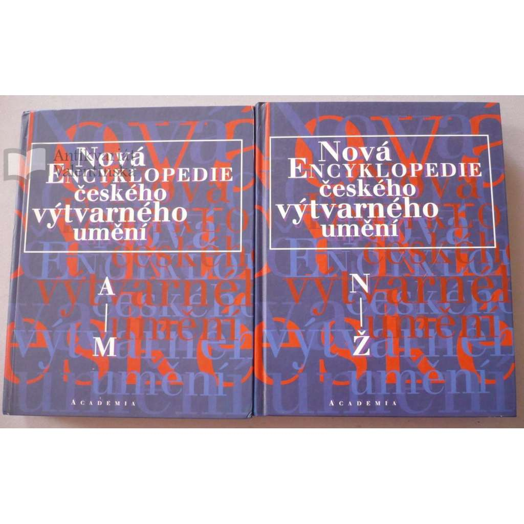 Nová encyklopedie českého výtvarného umění ,2 svazky