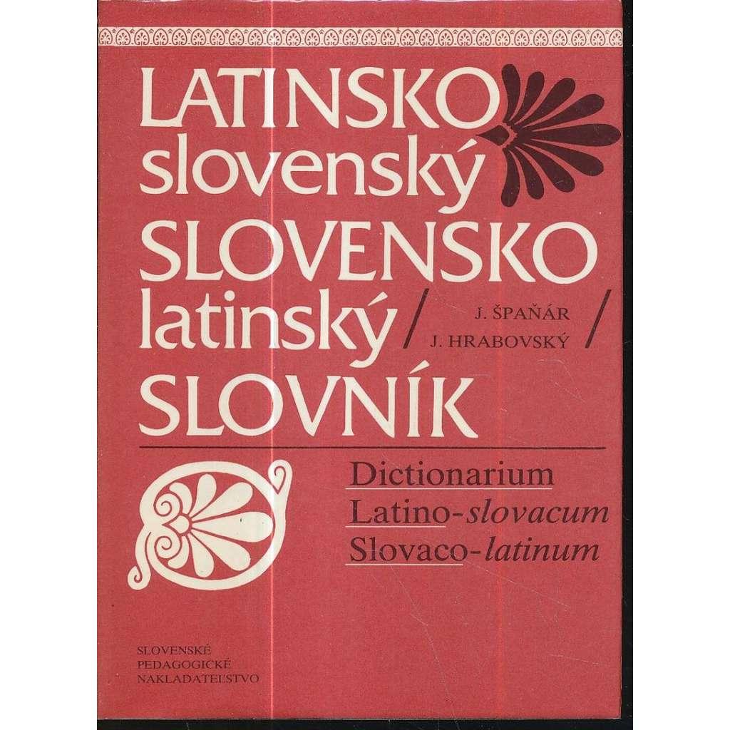 Latinsko-slovenský/slovensko-latinský slovník