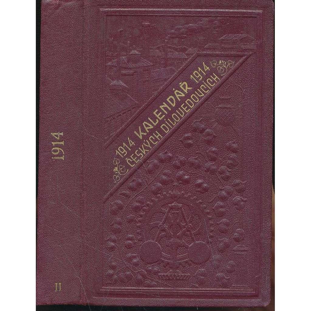 Kalendář českých dílovedoucích 1914, r.II.