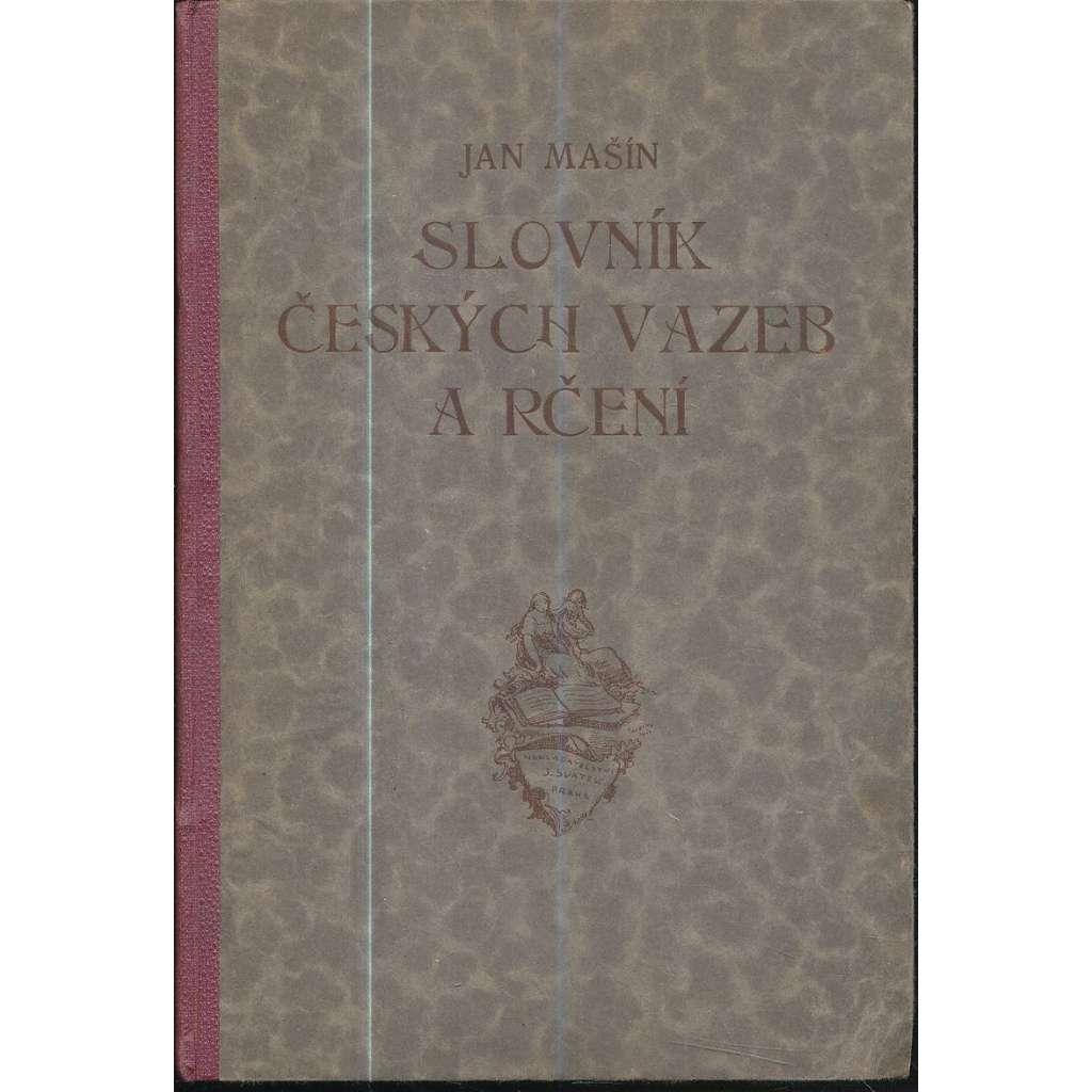 Slovník českých vazeb a rčení
