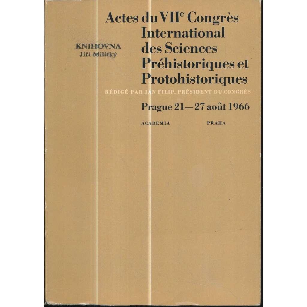 Actes du VIIe Congrès international des sciences..., 2