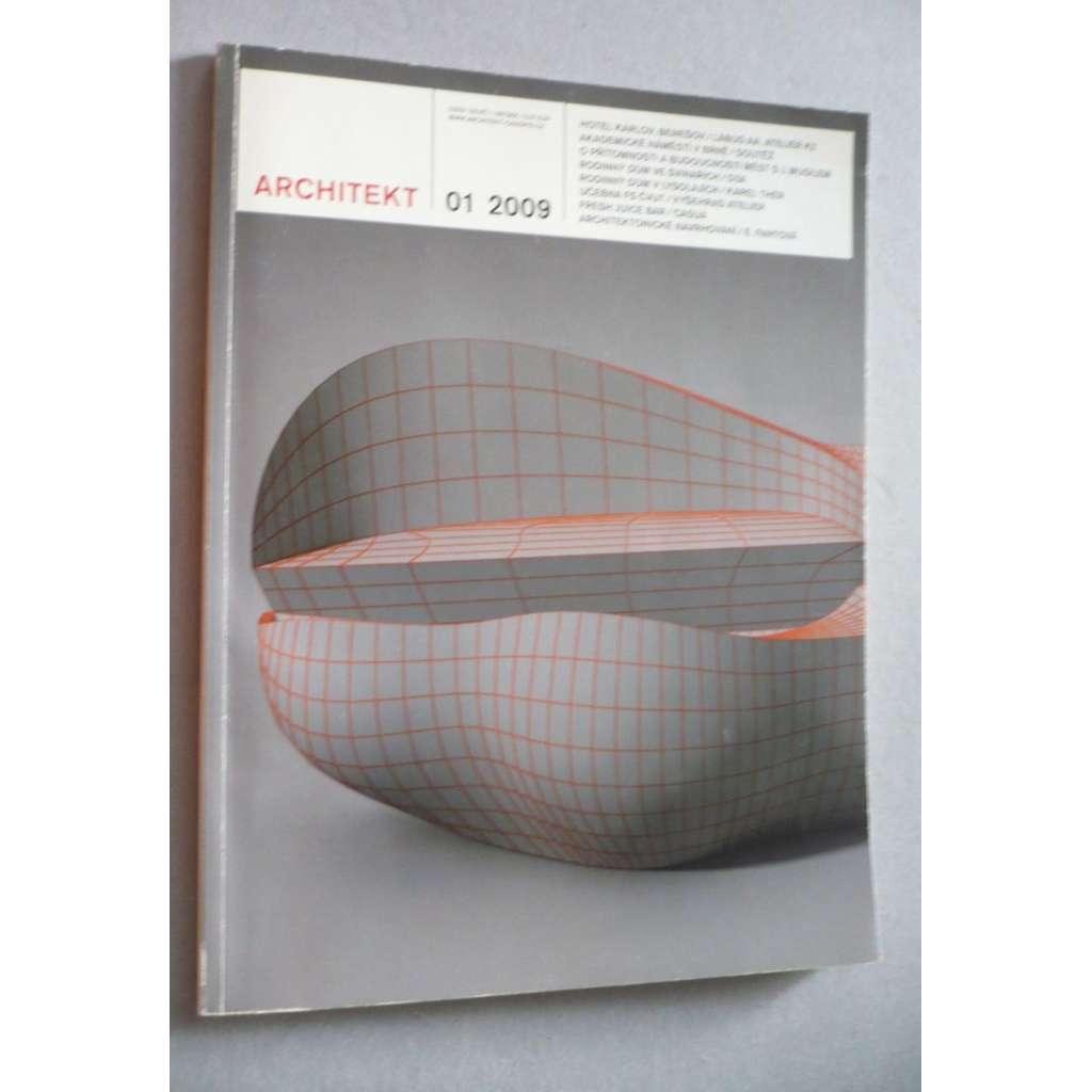 Architekt 01/2009, časopis