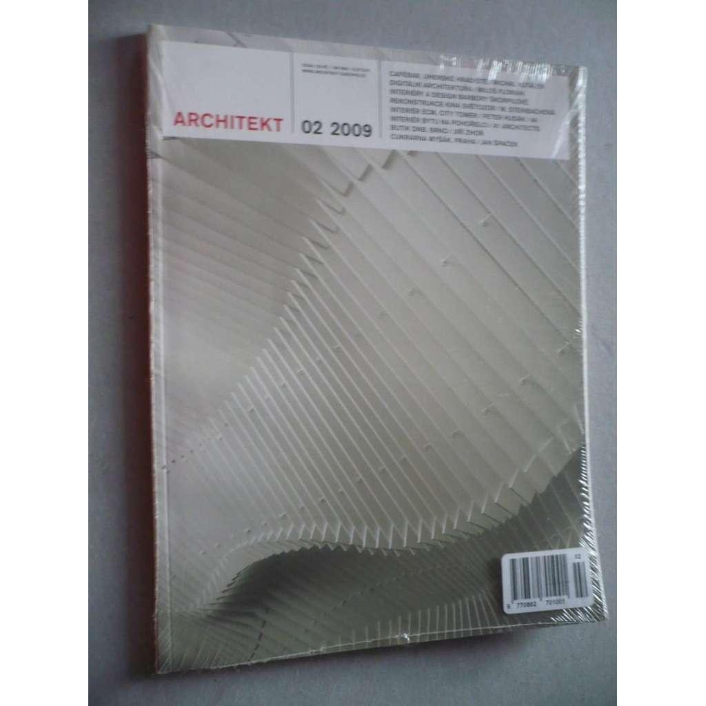 Architekt 02/2009, časopis