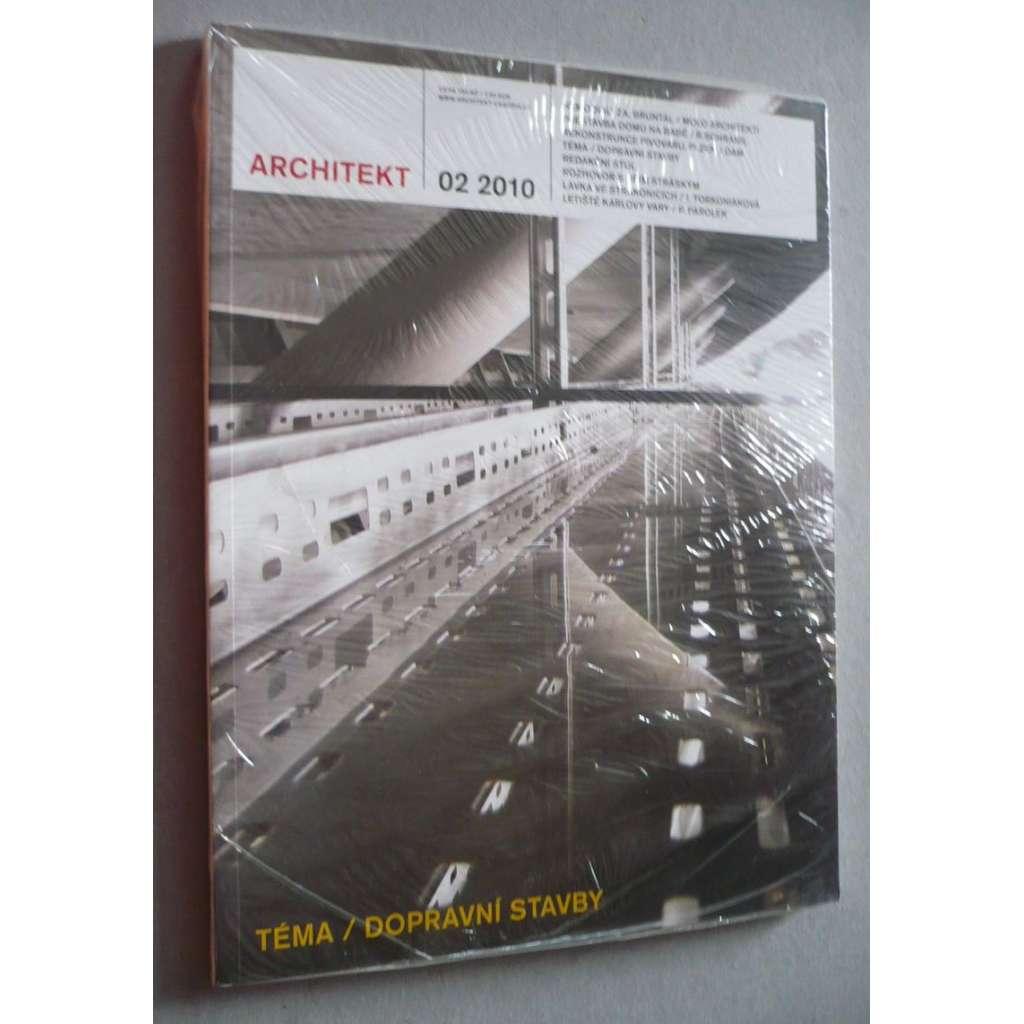 Architekt 02/2010, časopis