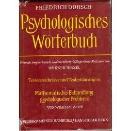 Psychologische Wörterbuch (Psychologický slovník)
