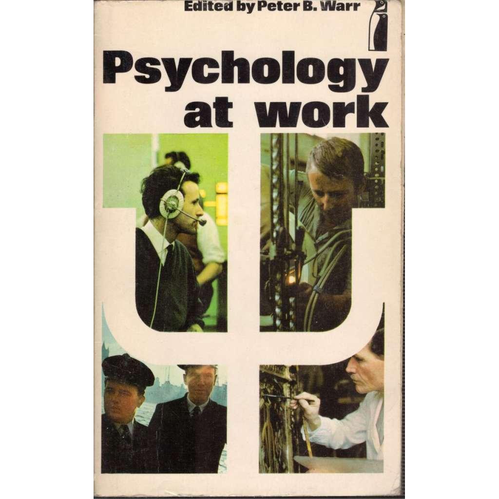 Psychology at work (Psychologie práce)